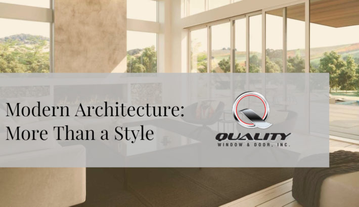 Modern Architecture: More Than a Style