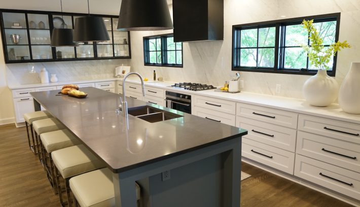 New Dark Interior Window & Door Finishes Provide the Perfect Accent for HGTV Renovations
