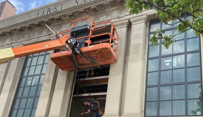 Quality Window & Door Installs New Windows in Historic Bank
